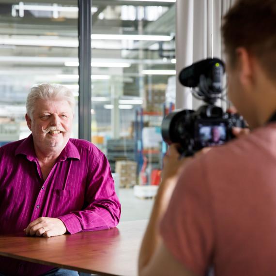 Jürgen Schluchter im Interview