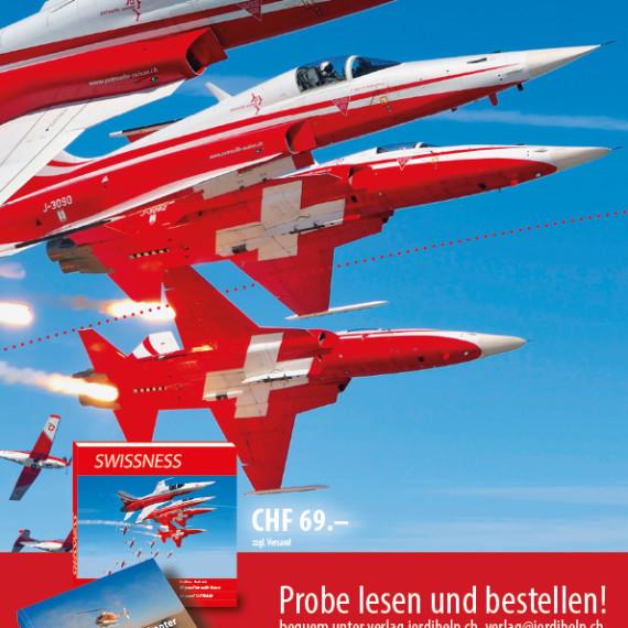 Swissness Buch Inserat