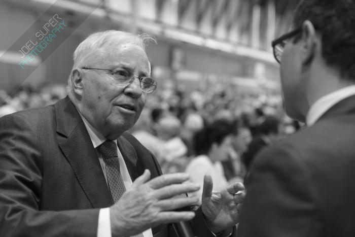Christoph Blocher an der AUNS Versammlung