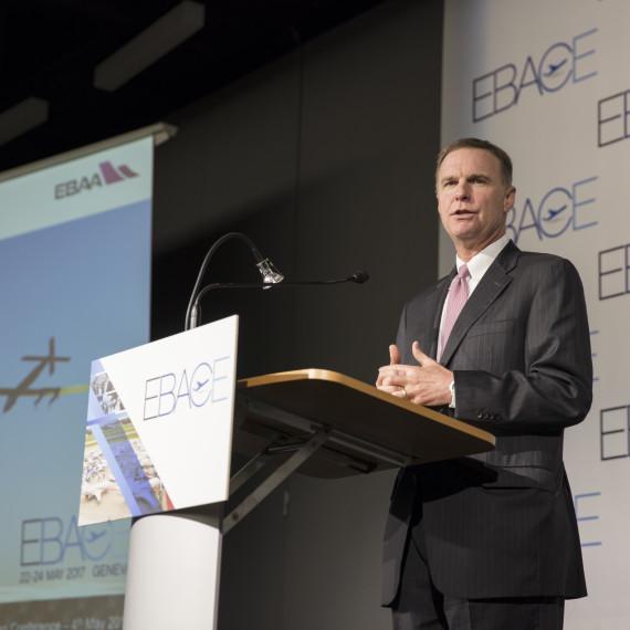 Ed Bolen at the EBACE 2017