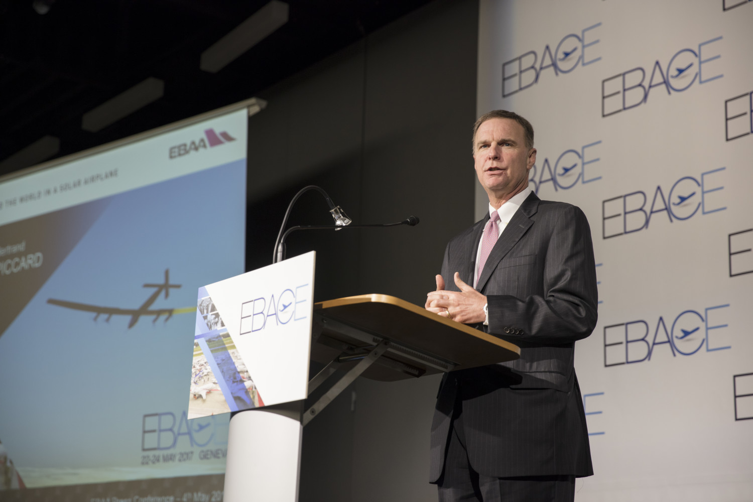 Ed Bolen at the EBACE 2017